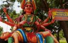Weird Religous Statue from Southern India:
