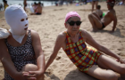 Beach Masks Help Chinese Stay Pale: