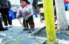 2 Year-Old Chained to Pole in Beijing for Safety: