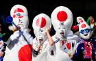 Japanese Pope Hats: World Cup Fans Run Amuck?: