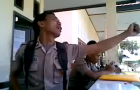Police Officer in Indonesia Fired after Viral Video Fame: