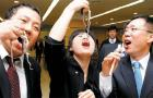 Octopus-Head Lobbyists Go Head to Head With Seoul Mayor: