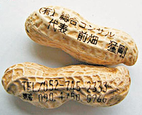 Peanut Business Cards You Can Eat picture