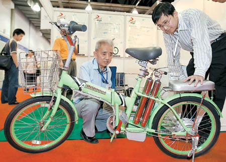 Hydrogen Fuel Bikes Debut in China picture