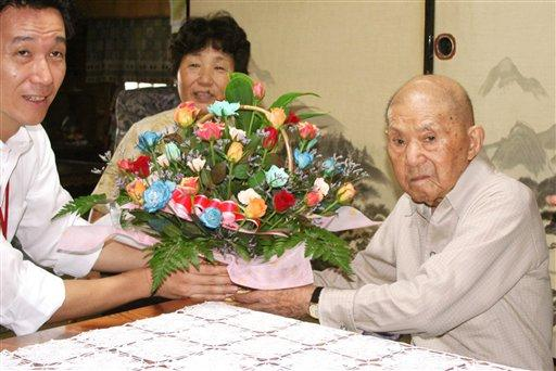 Worlds Oldest Man Turns 112 picture