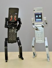 Robotic Cell Phone Friends picture