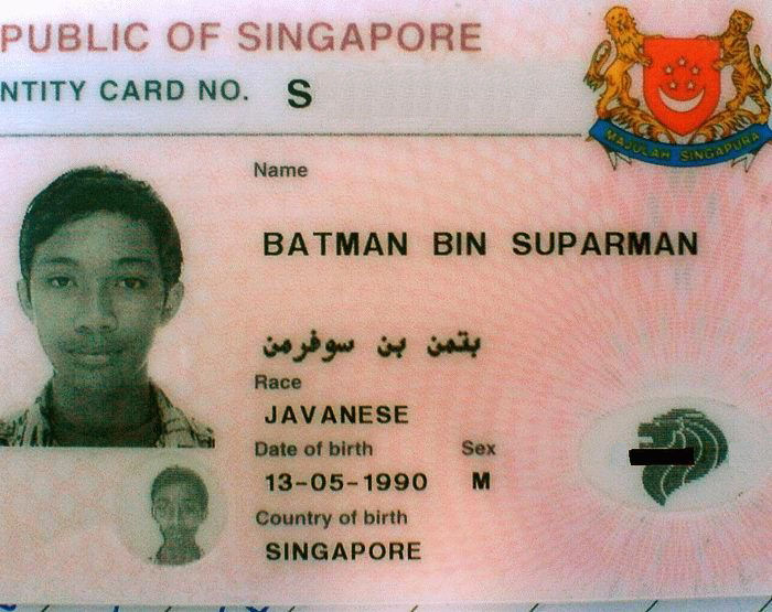 Singapore Superhero: Batman Bin Suparman picture