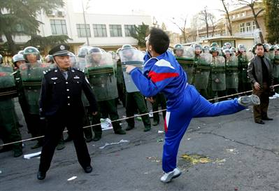 china-troublemaker China Troublemakers on Lockdown for Olympics picture