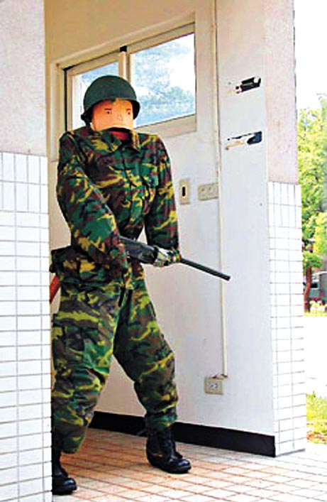 Guards Go Stiff at Local Army Base picture
