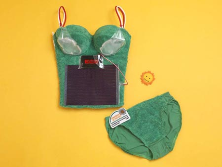 solar-lingerie Solar Powered Bra: Turning Lingerie Green picture