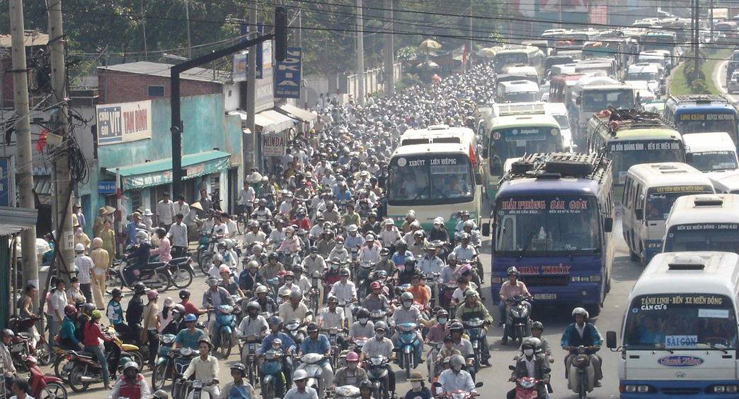 motorbike-vietnam All Small-Chested Drivers Banned from Motorbikes picture
