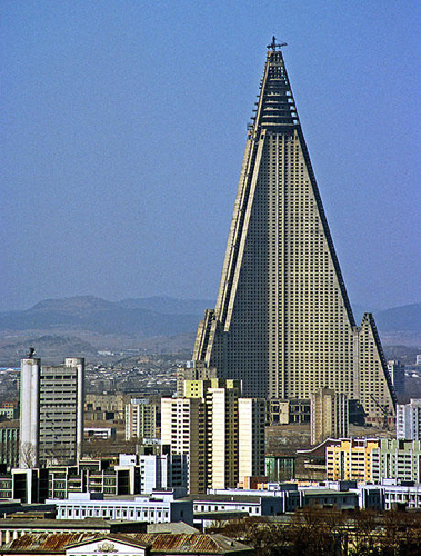 North Koreas Ryugyong Hotel: Ugliest Building on Earth? picture