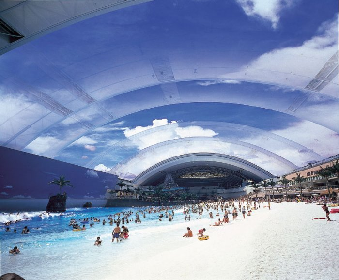 Japans Indoor Beach: Where The Surf is Always Up  picture