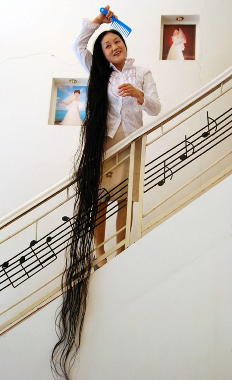 Chinese Rapunzels 16 Foot Record Hair picture