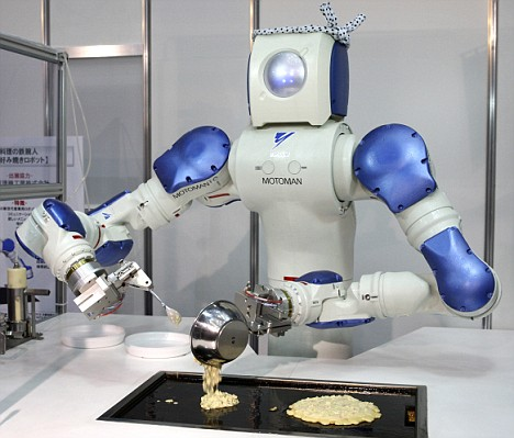 Robots Flip Pancakes, Serve Sushi picture