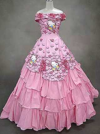 hello kitty wedding gown Hello Kitty: The Funny, The Weird, And The Horrifying picture