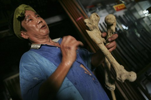 "Human Bones Add ""Spirit"" to Taiwanese Swords. thumbnail"