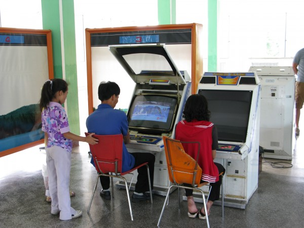 North Korean Arcade is a Blast from the Past picture