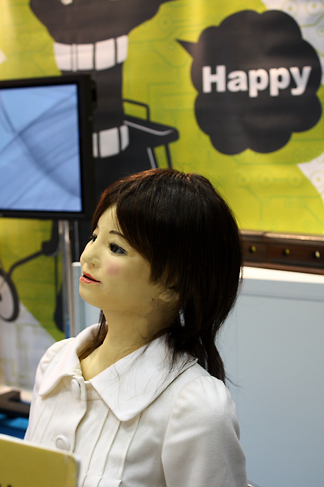 saya robot - developed in tokyo essay Is this a person or a robot increasingly, with some robot models, it's getting tougher to know the difference here, a humanoid robot appears at the robot development & application expo.