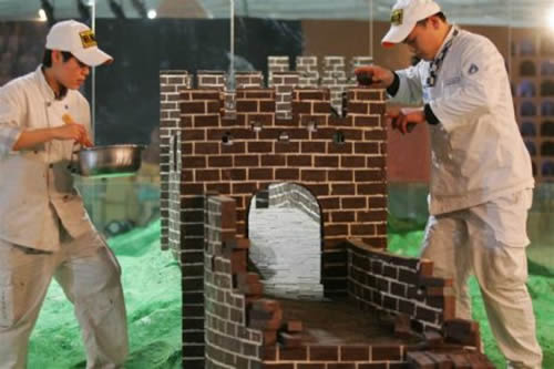 Chinese Wonderland Displays Chocolate Warriors picture