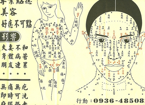 Chinese Face Readers Observe Moles picture