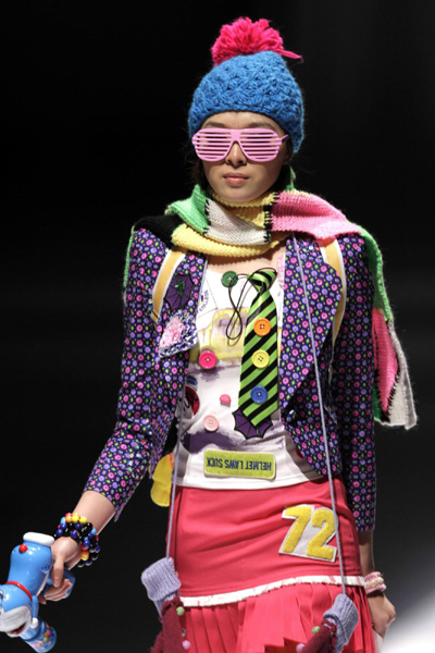 Strange Sights from China Fashion Week picture