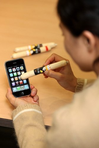 South Koreans Revolutionize iPhone Market with Sausage Meat Stylus picture