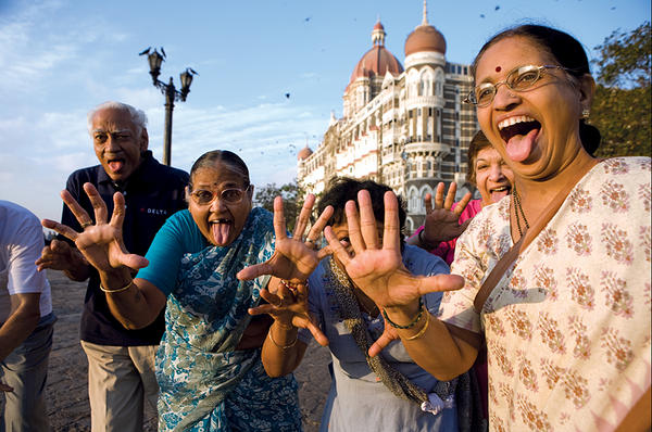 Introducing the Gateway of India Laughing Club — HAHAHA! picture