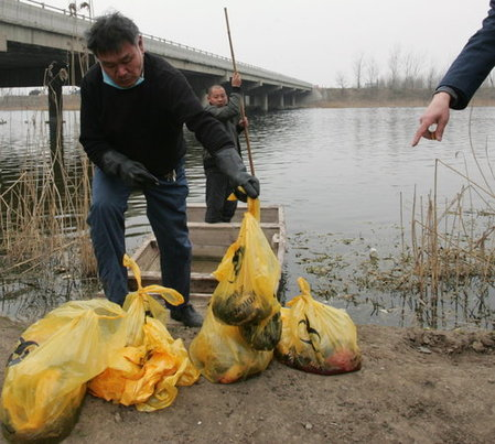 Four Fired Over 21 Bodies Dumped In China River picture