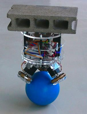 The Ball Inverted Pendulum: The Bowling Robot picture