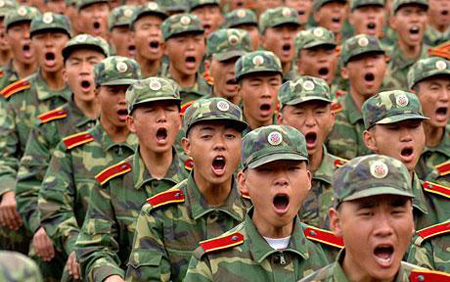 China Bans Soldiers From Online Dating  picture