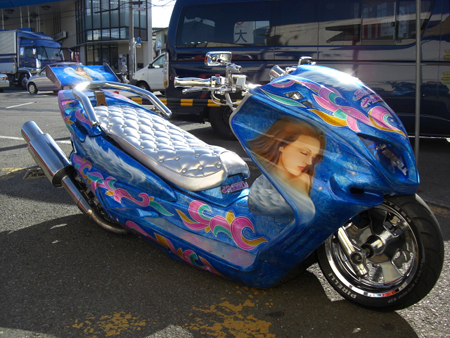 Japan's Custom Motor Scooters: Colorful Noise or Art Form? picture