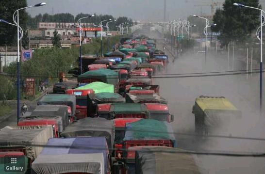 Chinas Neverending Traffic Jam picture