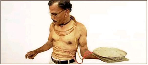Man Immune to Electrocution Indian Man Immune to Electrocution picture