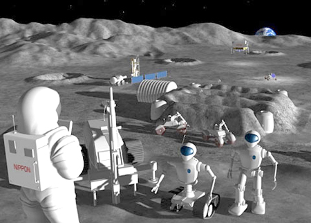 Will Japan Send Humanoid to Moon By 2015? picture