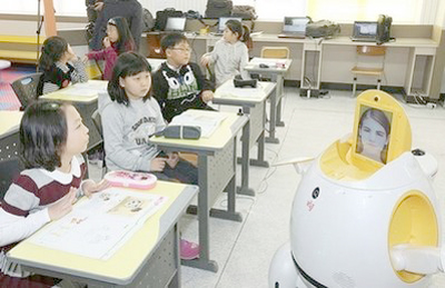 Robots Teach English in South Korea picture