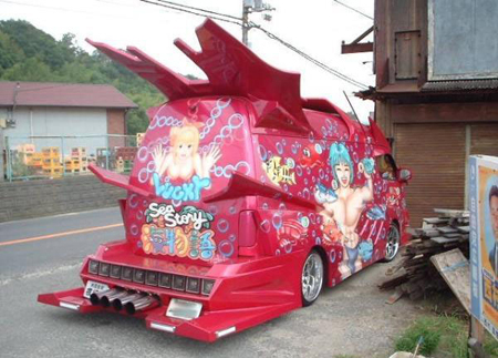 van1 Japanese Gangster Vans: Incredible Hulks Of a Different Kind picture