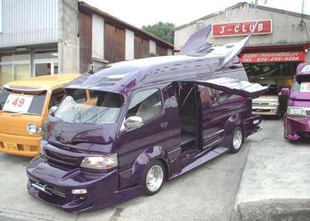 van2 Japanese Gangster Vans: Incredible Hulks Of a Different Kind picture
