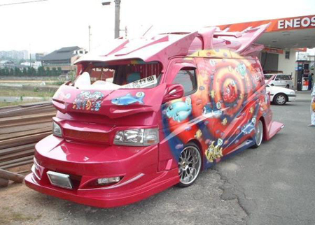 van3 Japanese Gangster Vans: Incredible Hulks Of a Different Kind picture