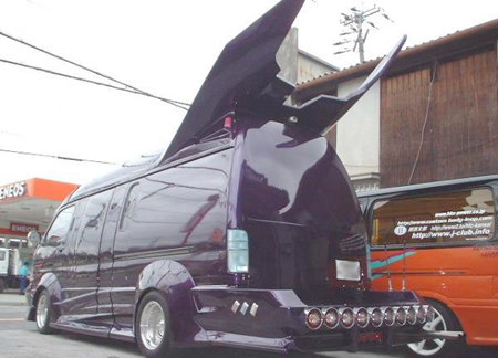 van4 Japanese Gangster Vans: Incredible Hulks Of a Different Kind picture