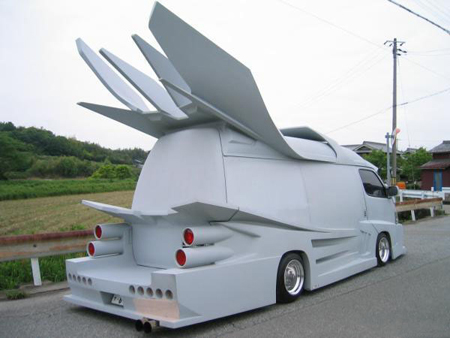 van5 Japanese Gangster Vans: Incredible Hulks Of a Different Kind picture