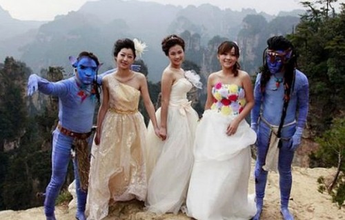Avatar Themed Weddings Hit China picture