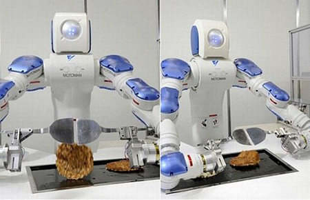 Robot Chefs: Gastronomic, Non Galloping Gourmets picture