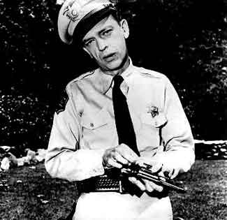 Indias Own Barney Fife Shoots Himself For Award picture