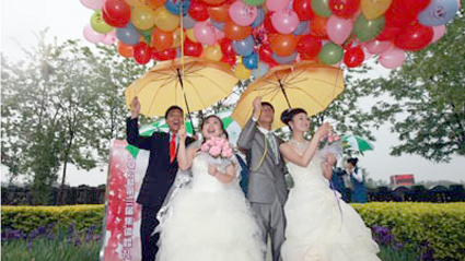 Chinese Couples Wed in Cemetery: Till Death Really Do Us Part picture