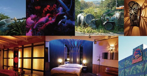 6 25 2011 11 32 02 AM Love Hotel in Japan Modeled After Jurassic Park picture