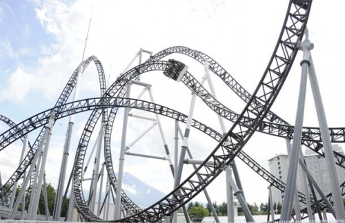 Japanese Theme Park Opens Worlds Steepest Roller Coaster picture
