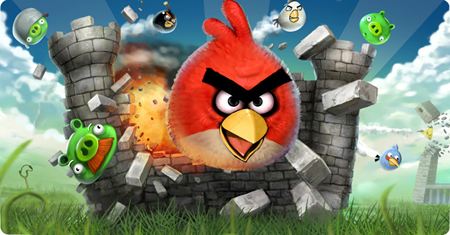 Angry Birds Mobile App Featured At Theme Park in China  picture