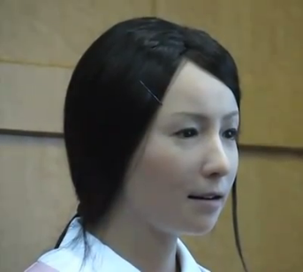 Japan Creates Lifelike Japanese Robot Girlfriend picture