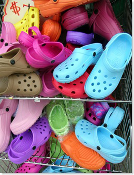 crocs Japan Battles with Footwear Company picture